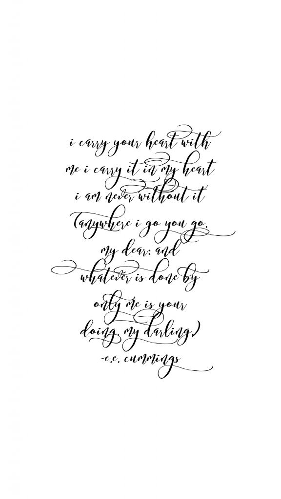 e e cummings poem pdf